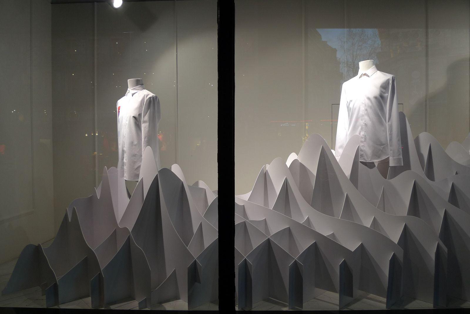 Vitrines des Galeries Lafayette - Paris, mars 2014 | da JournalDesVitrines.com