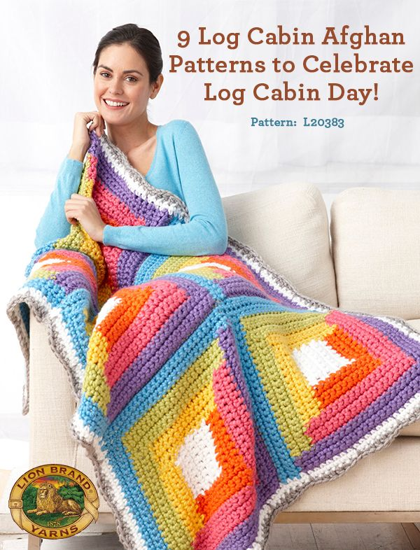 Celebrate Log Cabin Day (the last Sunday in June) with these beautiful patterns inspired by the traditional motif!