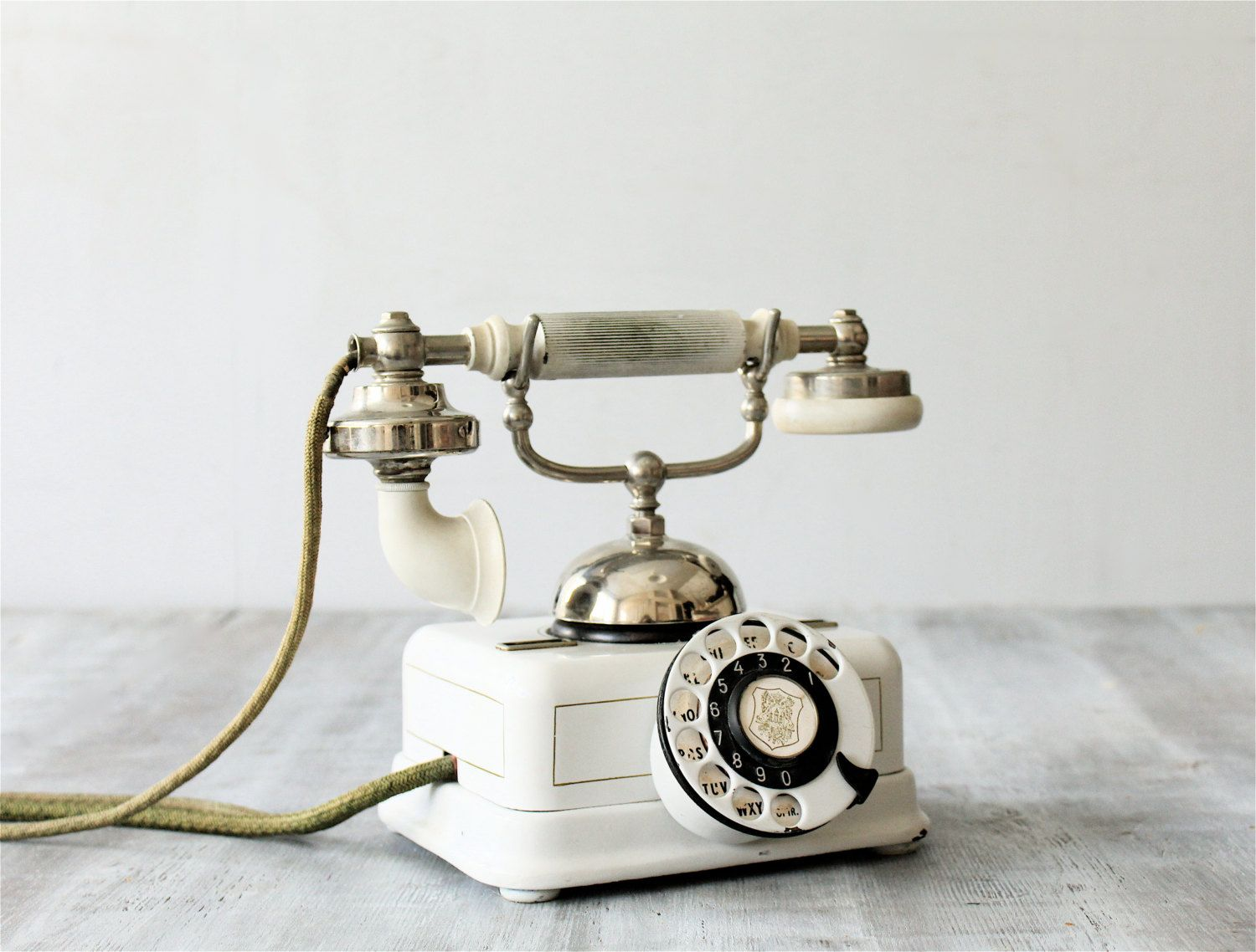 1940s Danish Phone. Have this phone in guest bedroom.