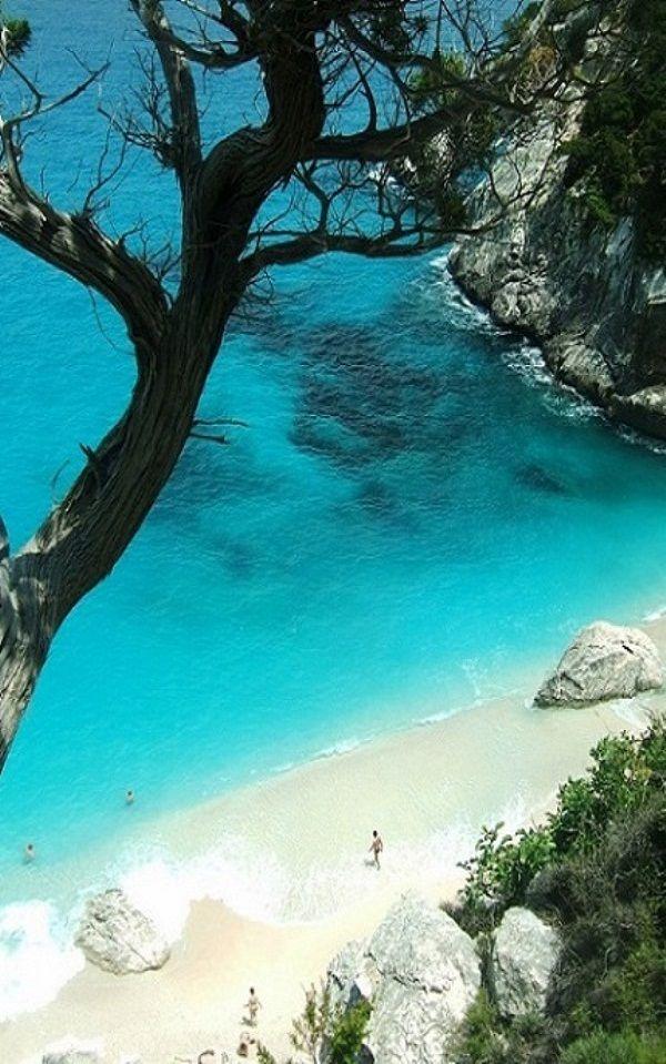 Cala Goloritzè Beach In Sardinia Italy