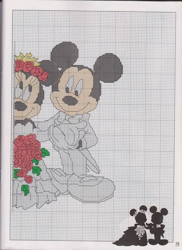 A través de yannie Boda Mickey y Minnie (1) | Disney Crafts ...
