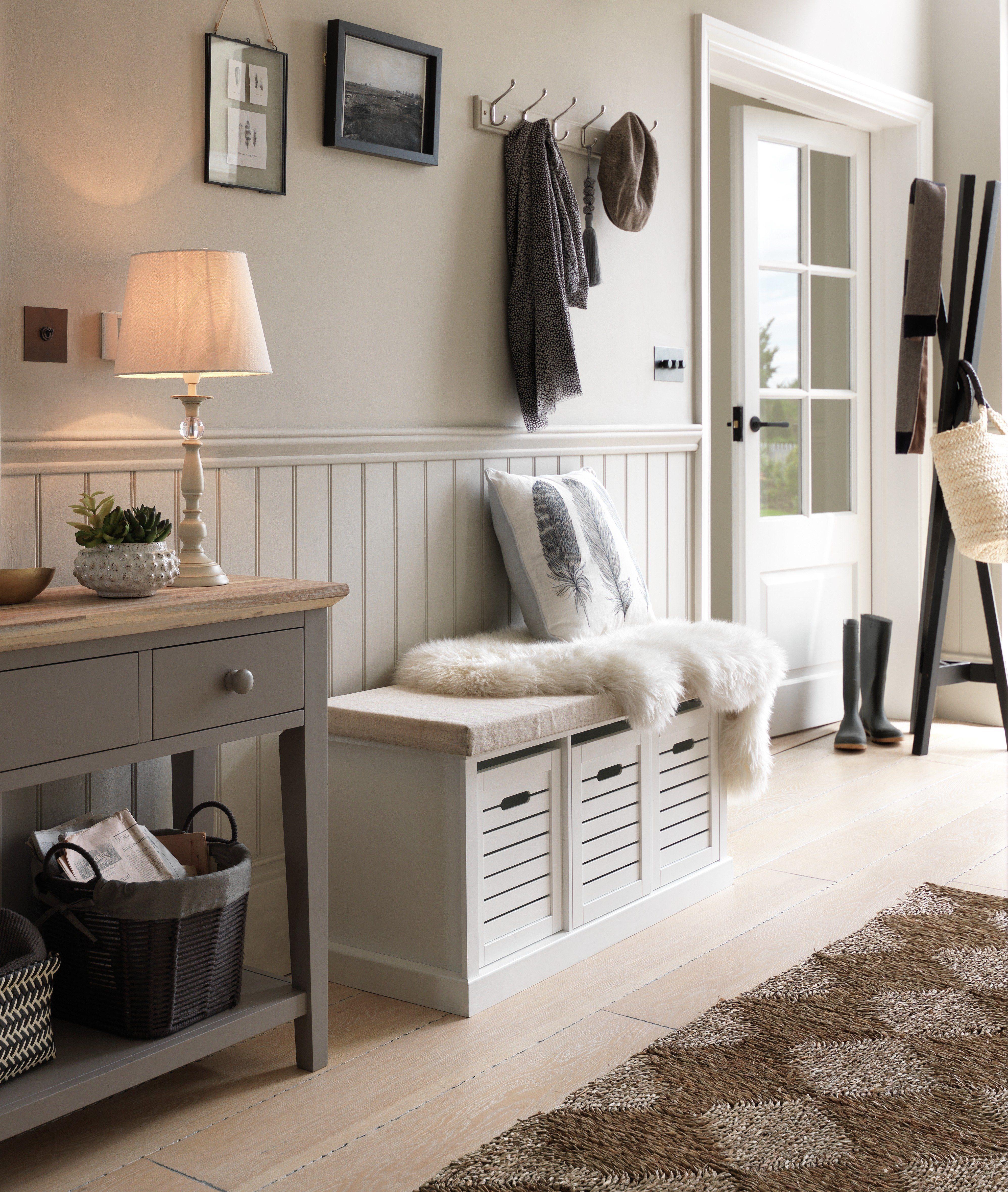Prime Home Hereford Storage Bench White In 2019 Hallway Theyellowbook Wood Chair Design Ideas Theyellowbookinfo