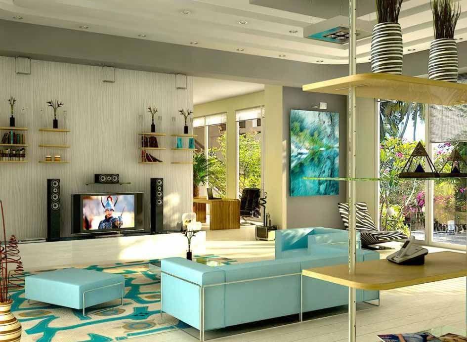 Denah desain gaya dekorasi interior rumah eropa minimalis for Design interior minimalis modern