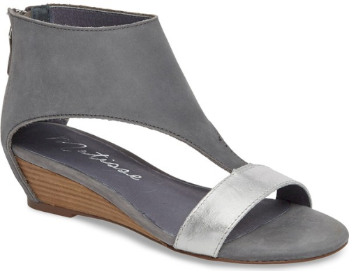 c3b99f9efd9a Matisse Reach Wedge Sandal in Grey. A bold cuff combined with a ...
