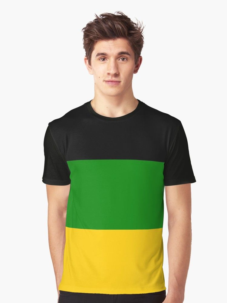 The African National Congress Anc Flag Graphic T Shirt By Truthtopower Shirts T Shirt Classic T Shirts