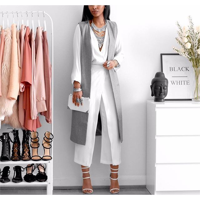 Blouse @hm Long Vest @missguided Pants (old) @zara Heels @simmishoes #fashion#fromabove#trend#hm#beautiful#ootd#whatiwore#vogue#tbt#instafashion#jewelry#picoftheday#chic#glam#style#streetstyle#dress#bgki#wiw#makeup#outfit#fashionblogger#fashionista#zara#Chanel#adidas#interior#simmigirl