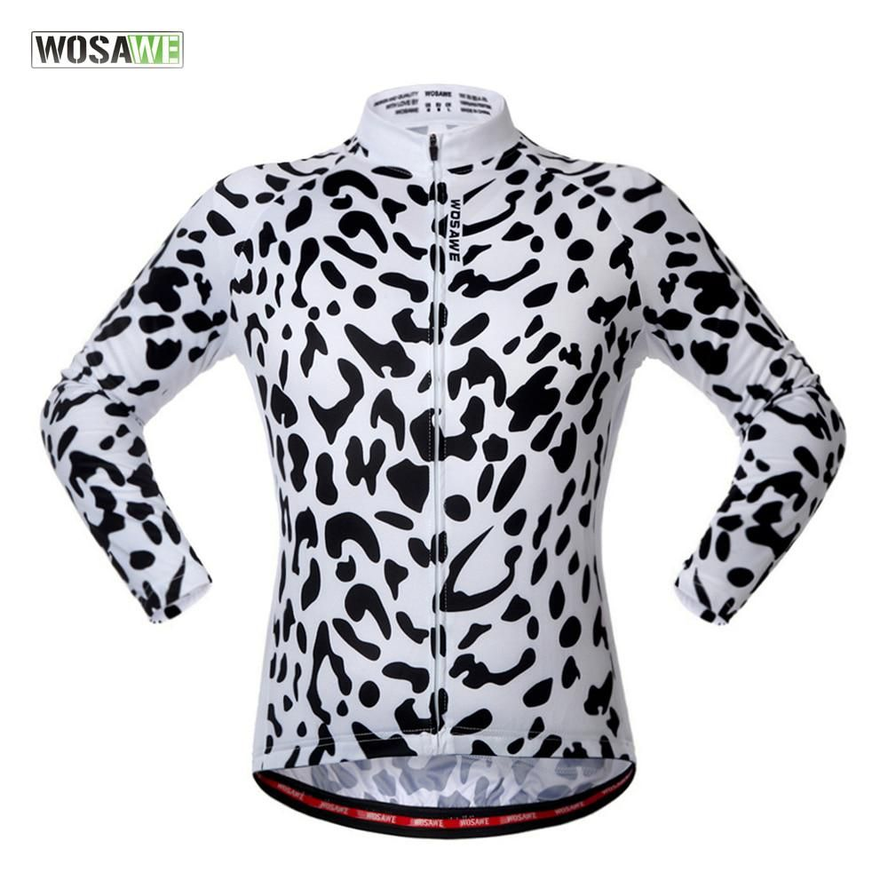 WOSAWE 2018 Downhill cycling Jacket LONG SLEEVE Clothing MTB wear  Breathable Mountain Bike riding clothes Maillot de descenso. Yesterday s  price  US  34.98 ... f7c1b3b52