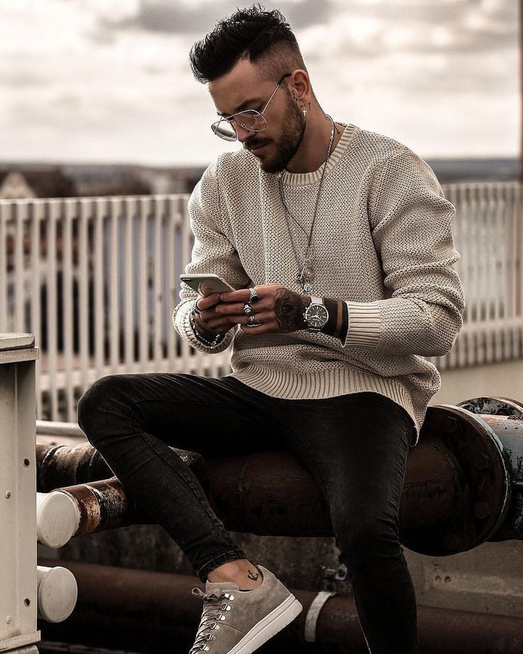 48 spring chic outfits for men's street style 38