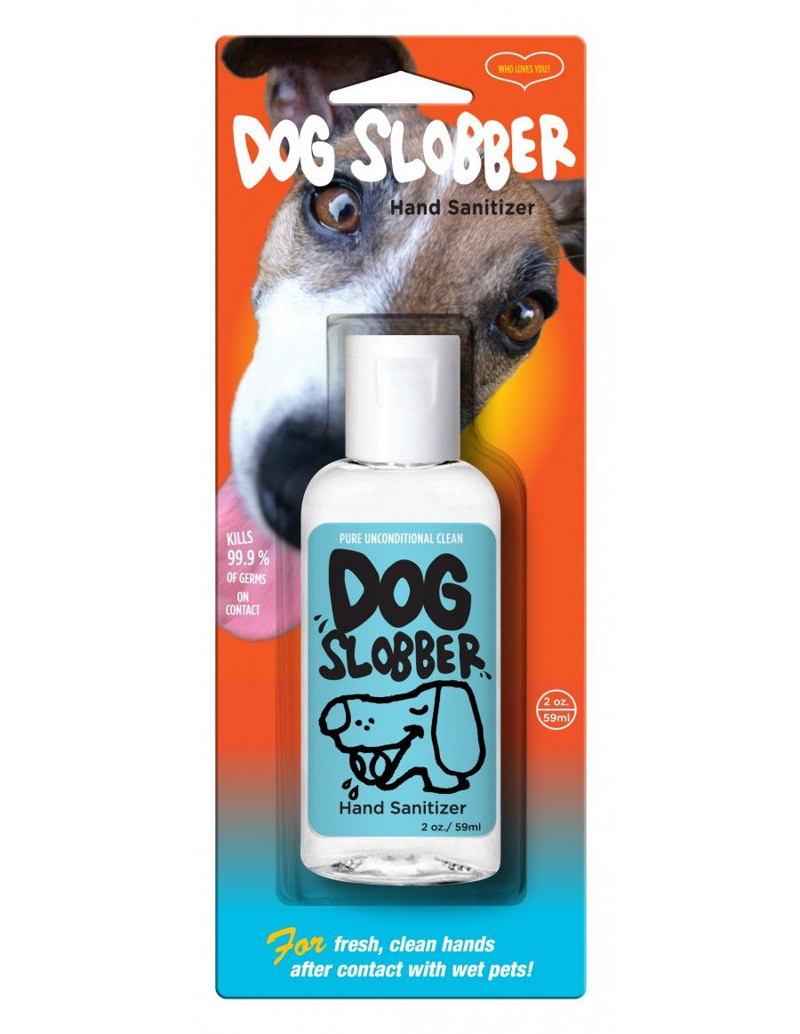 Dog Slobber Hand Sanitizer By Blue Q Hand Sanitizer Yankee Swap