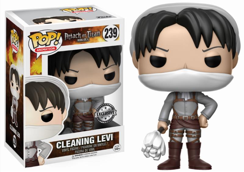 Funko Pop Levi: Attack On Titan - Cleaning Levi
