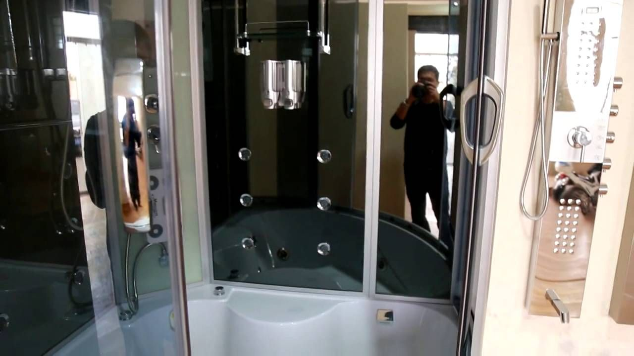 Two Person Steam Shower with Whirlpool Bathtub ST 8808B   Two Person ...