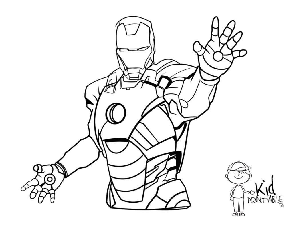 16 Ironman Coloring Pages Free Pdf