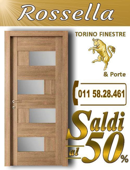 porte interne Rossella torino | Porte Interne con Vetro Torino ...