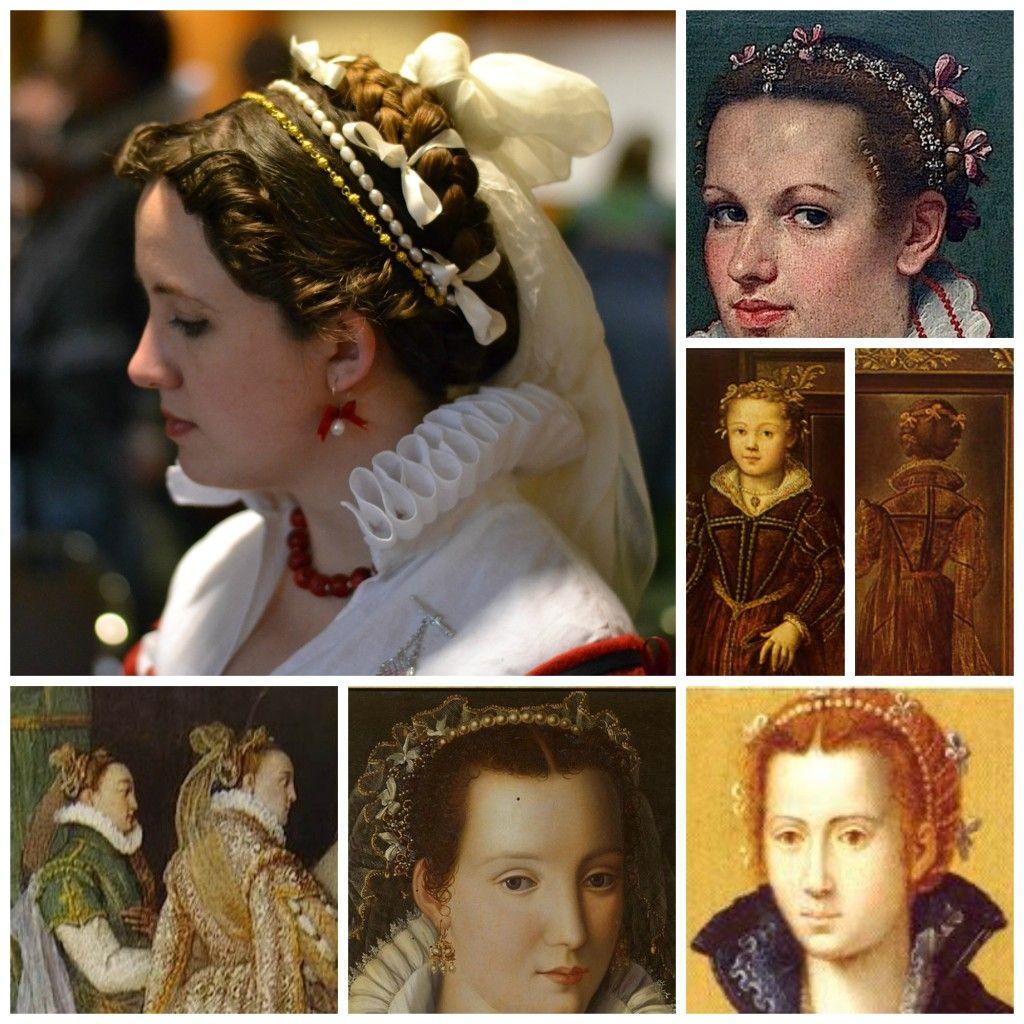 16th century italian braids and curls on morgandonner