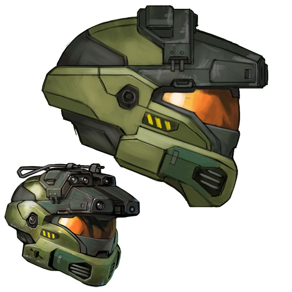 Jun helmet sci fi pinterest halo helmets and scouts - Master chief in halo reach ...