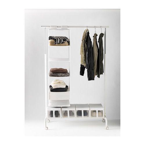 rigga garderobenst nder wei garderobenst nder eingestellt und ikea. Black Bedroom Furniture Sets. Home Design Ideas