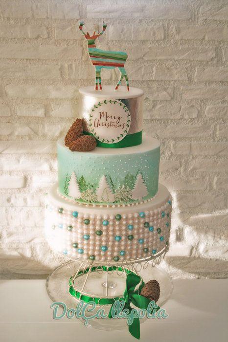 Merry Christmas By Paloma Sempere Gras Cakesdecor Com Cake