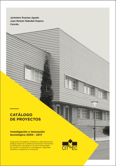CITEEC: catálogo de proyectos de investigación e innovación tecnológica (2000-2017)/ Jerónimo Puertas Agudo, Juan Ramón Rabuñal Dopico (coordinadores). Signatura:  96 CIT  Na Biblioteca: http://kmelot.biblioteca.udc.es/record=b1662513~S1*spi