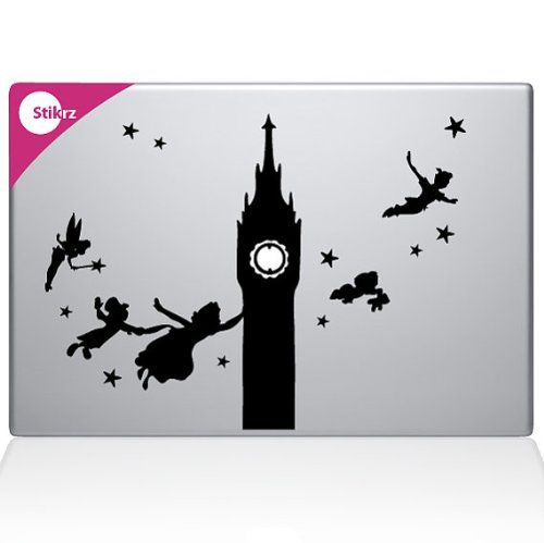 amazon com peter pan clock tower flying with friends night sky