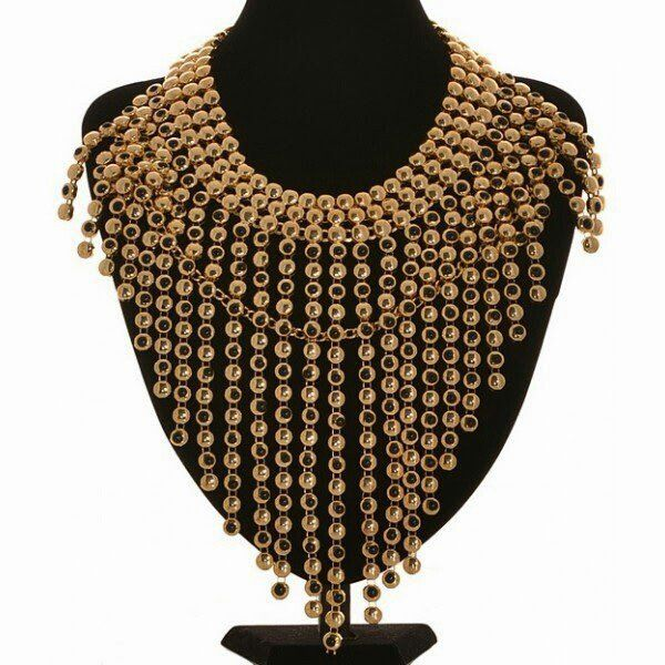 Esta Statement Necklace via Fabuglitz Boutique. Click on the image to see more!