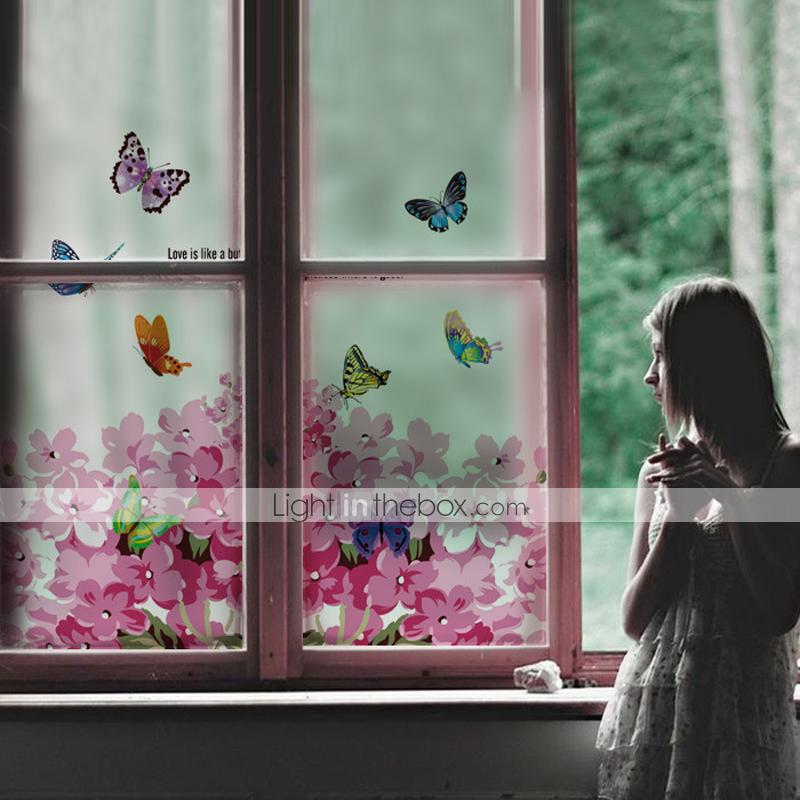 معاصر حافة النافذة غرفة الطعام غرفة النوم المكتب Pvc Vinyl 2020 Us 5 76 Gallery Wall Window Decals Window Film