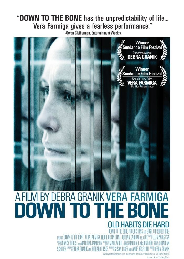 Down to the Bone. Indie favorite of Sundance in 2004. Sad, fractured look at a small down grocery clerk and mother struggling with drug addiction.