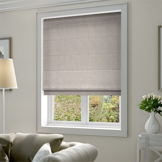 Dover Cloud Grey Roman Blind Width 85cm Drop 195cm £67.08 Blinds 2go.co.uk  | Bedroom | Pinterest | Grey Roman Blinds, Roman Blinds And Bedrooms