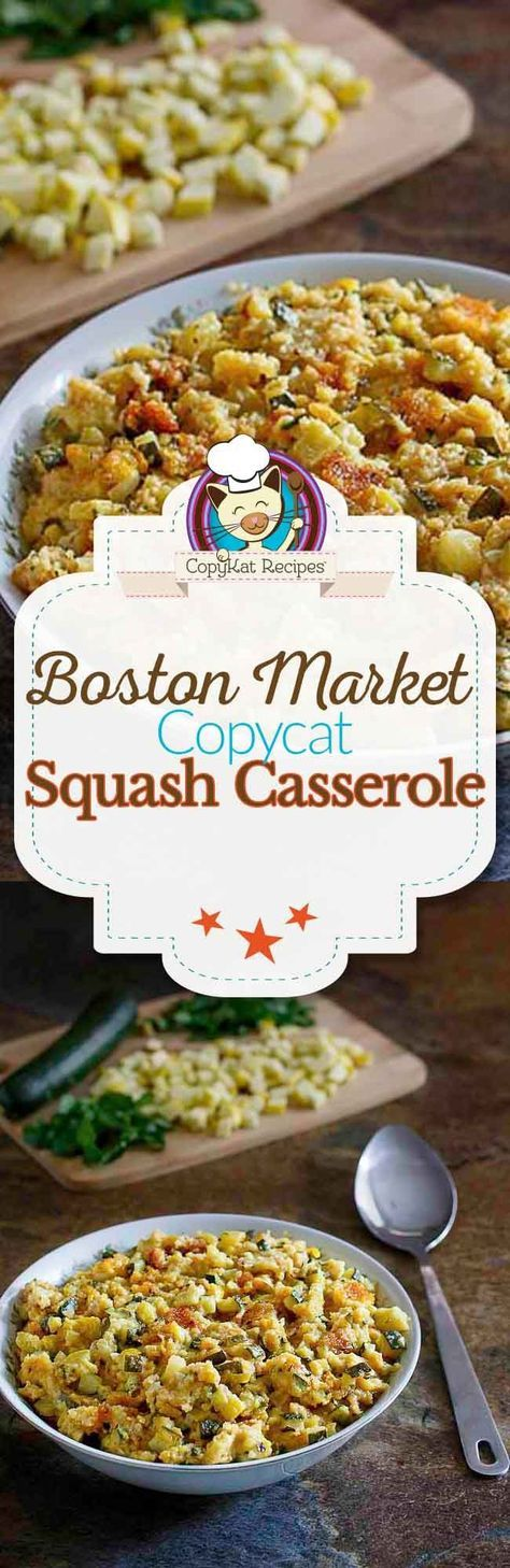 Boston Market Squash Casserole Recipe Copykat recipes
