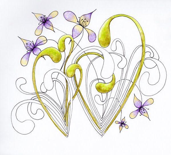 a little lime: mooka v assunta diva challenge #83 - wild violets