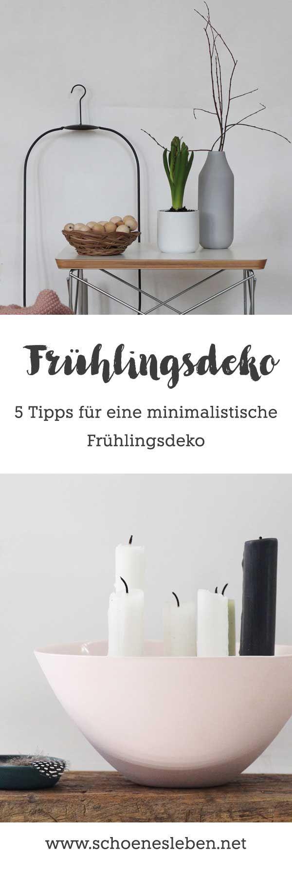 f nf tipps f r eine easy fr hlingsdeko dekoration. Black Bedroom Furniture Sets. Home Design Ideas