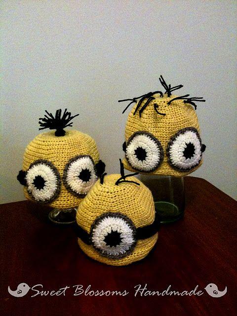 Minion Crochet Hat Tutorial | Hats! | Pinterest | De todo y Tejido