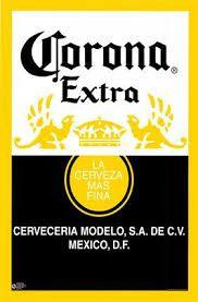 Resultado de imagen para etiqueta cerveza corona vector