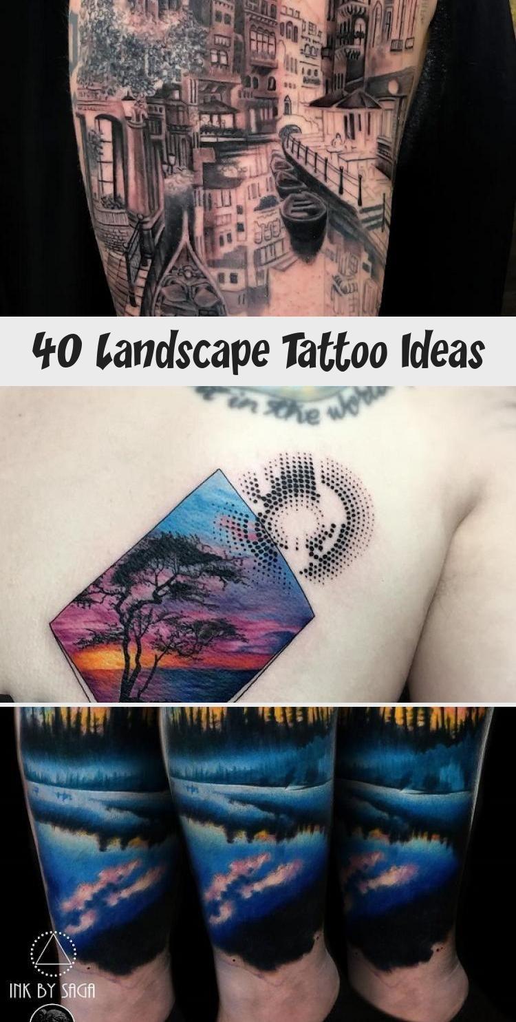 Photo of Idées de tatouage de paysage #MexicanArtTattoo #ArtTattooArm #ArtTattooCreative #Class …