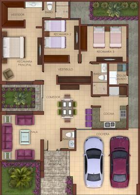 Informaci n casa en venta modelo vittoria en culiac n for Diseno de casa de 180 metros cuadrados