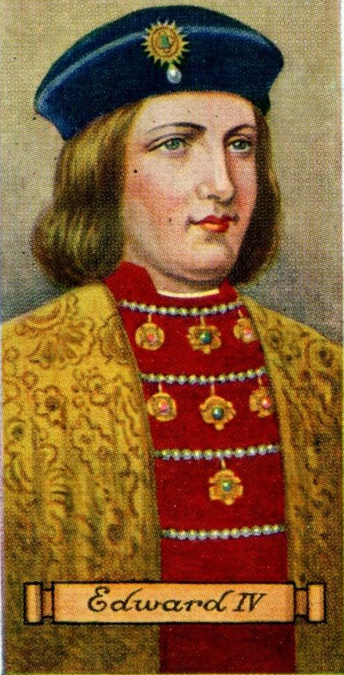 Resultado de imagen para Fotos de Eduardo IV