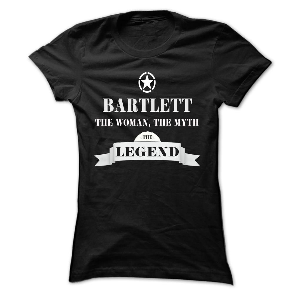BARTLETT, the woman, the myth, the legend T Shirts, Hoodies. Check price ==► https://www.sunfrog.com/Names/BARTLETT-the-woman-the-myth-the-legend-oxasddpzou-Ladies.html?41382 $19
