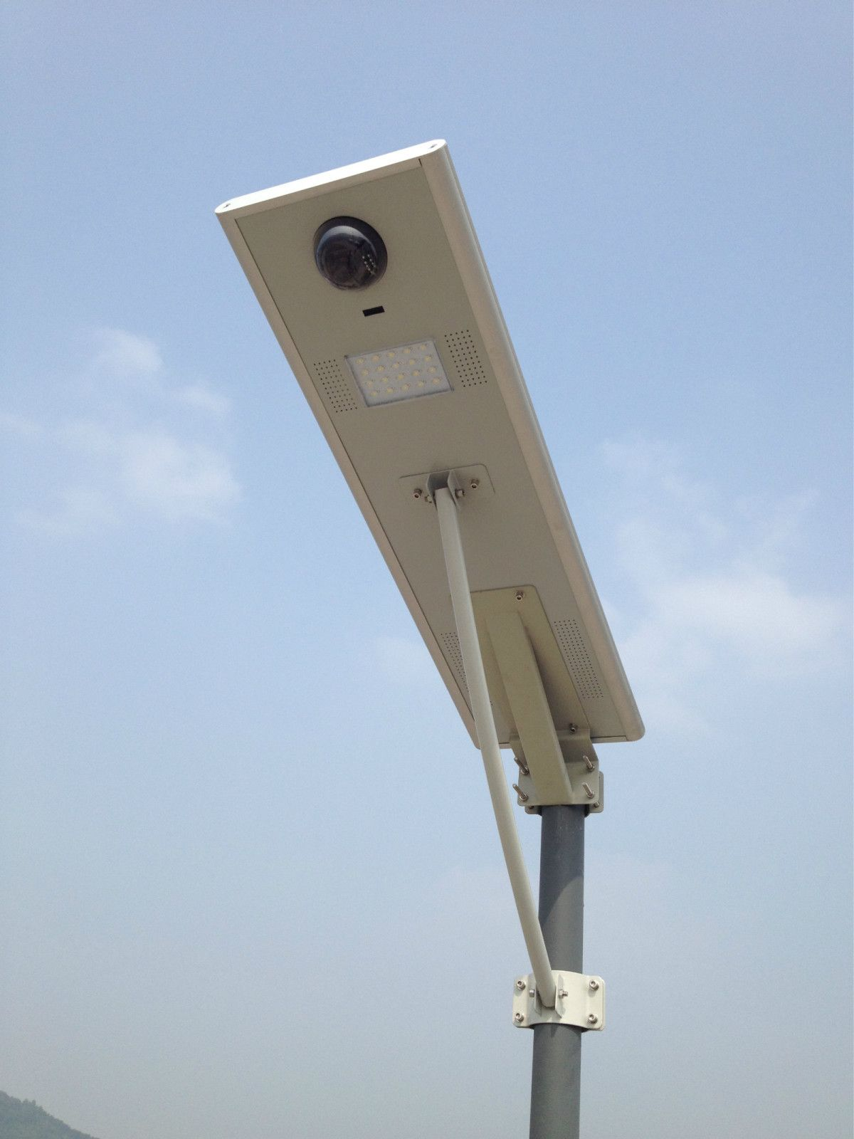 New 15w Led All In One Solar Street Light W Ip Camera