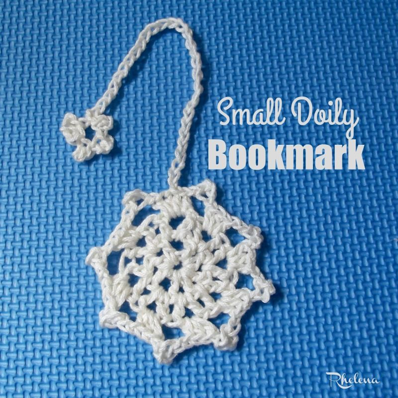 Small Doily Bookmark Or Coaster Crocheting Pinterest Crochet