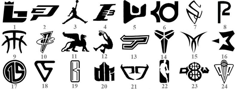 Basketball Players Shoe Logos And Names Yahoo Image Search Results Basketball Players Logos Seal Logo