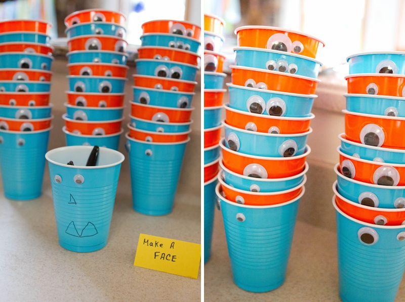 Little Monster Party Decoration