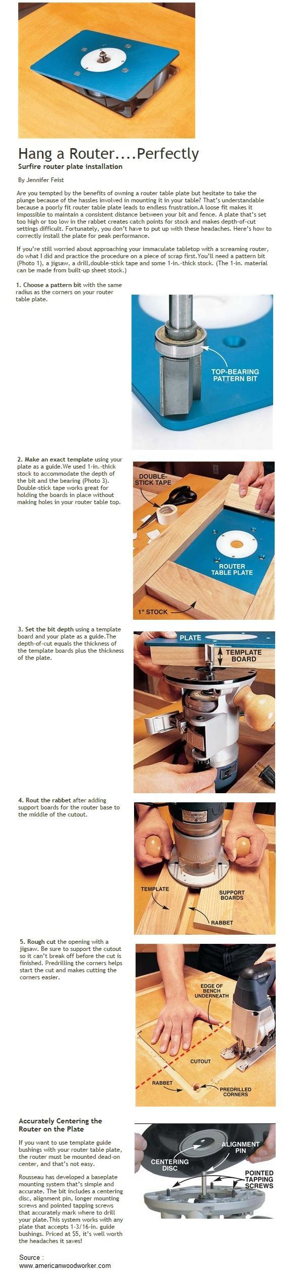 Hang a routerrfectly woodworking pinterest router table hang a router greentooth Choice Image
