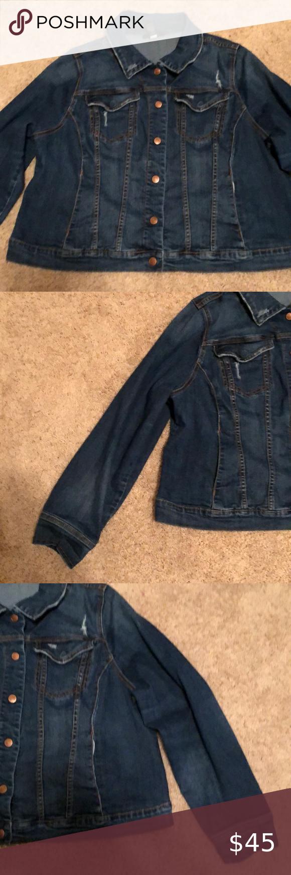 Lane Bryant Distressed Crop Denim Jacket Cropped Denim Jacket Distressed Denim Jacket Cropped Denim [ 1740 x 580 Pixel ]
