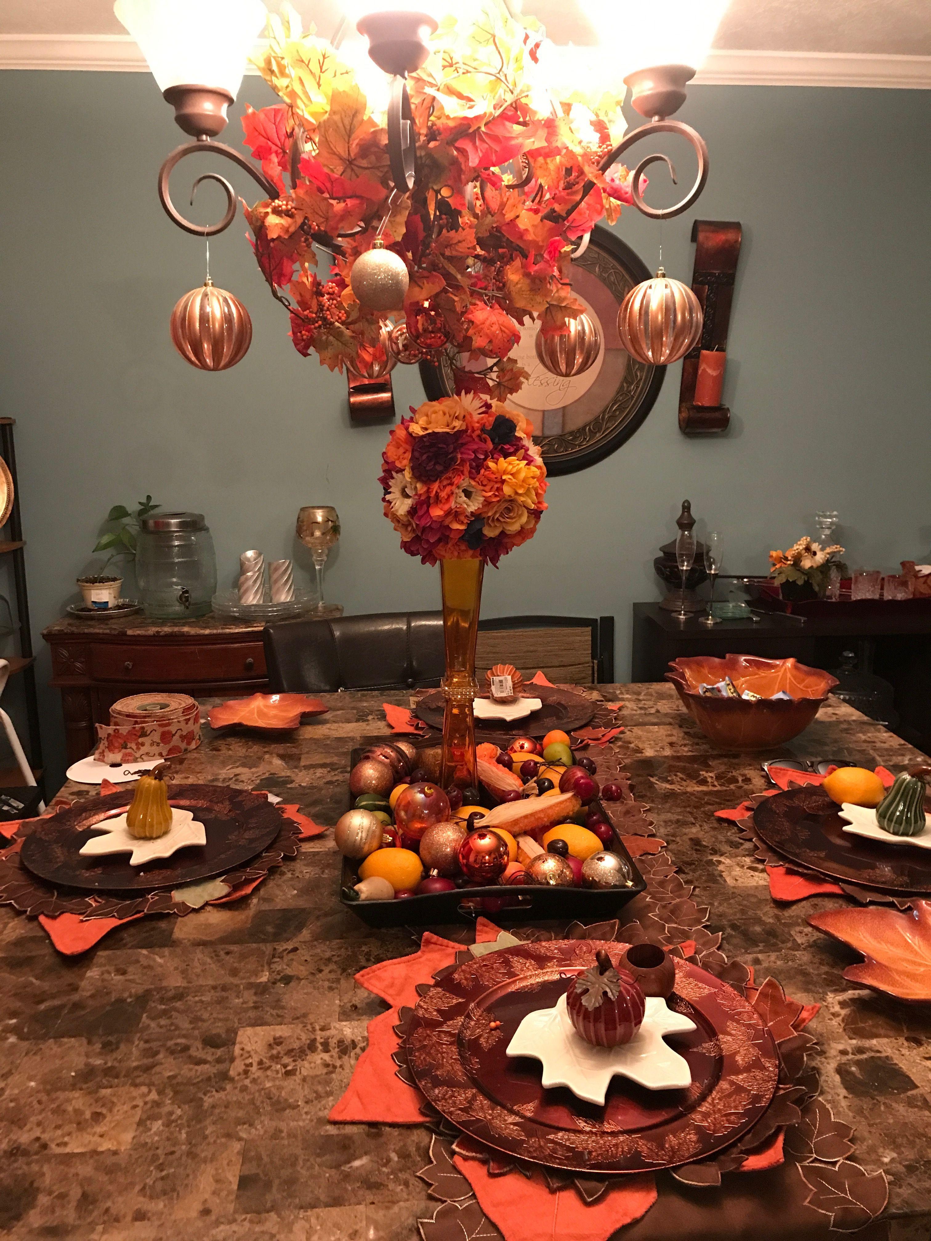 Pin By Tabbitha Martin On Fall Harvest Decor Thanksgiving Table Decorations Thanksgiving Decorations Fall Decor