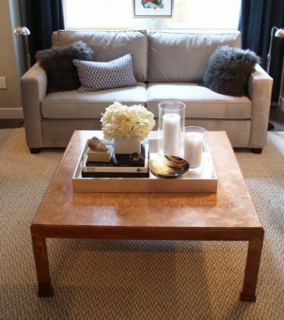 Tray Coffee Table Makeover: Belle Maison: Five Ways To Style Your Coffee Table