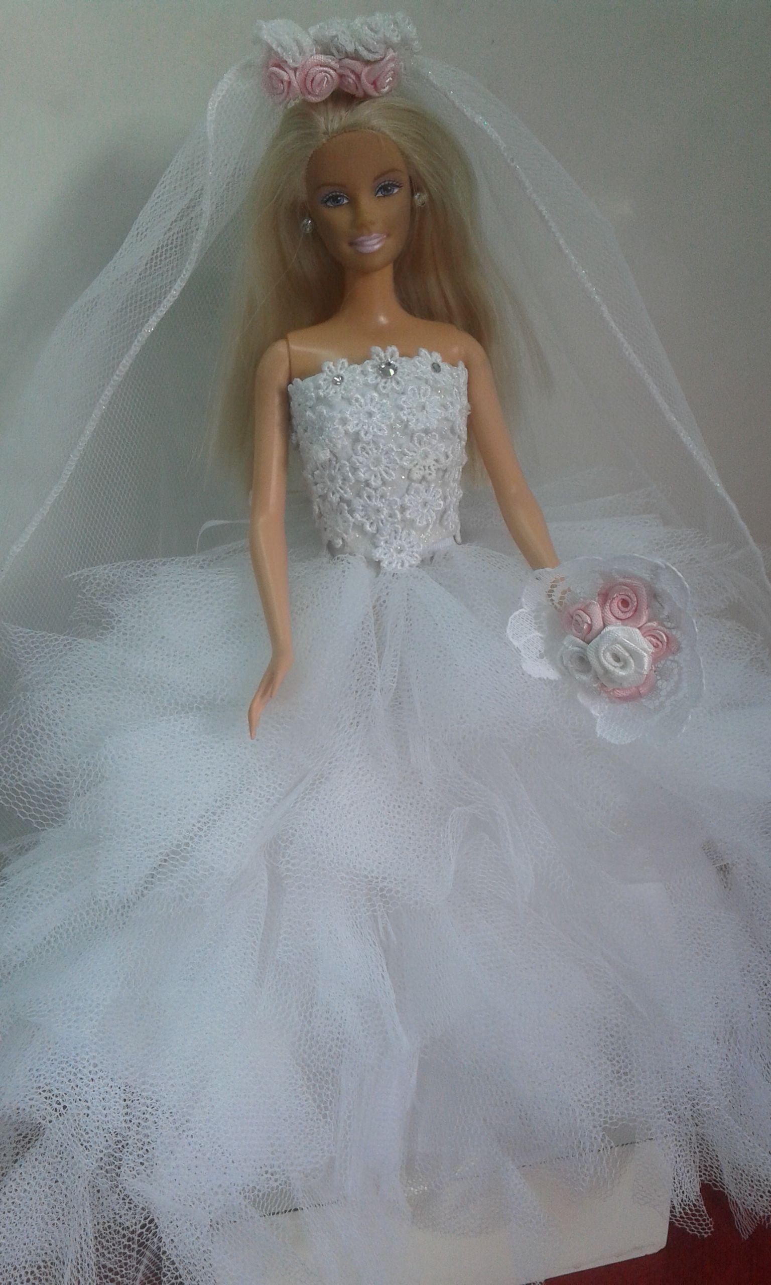 Fancy Barbie Vestido De Novia Embellishment - All Wedding Dresses ...
