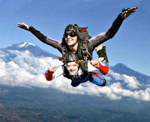 Colorado Rockies- sky diving!