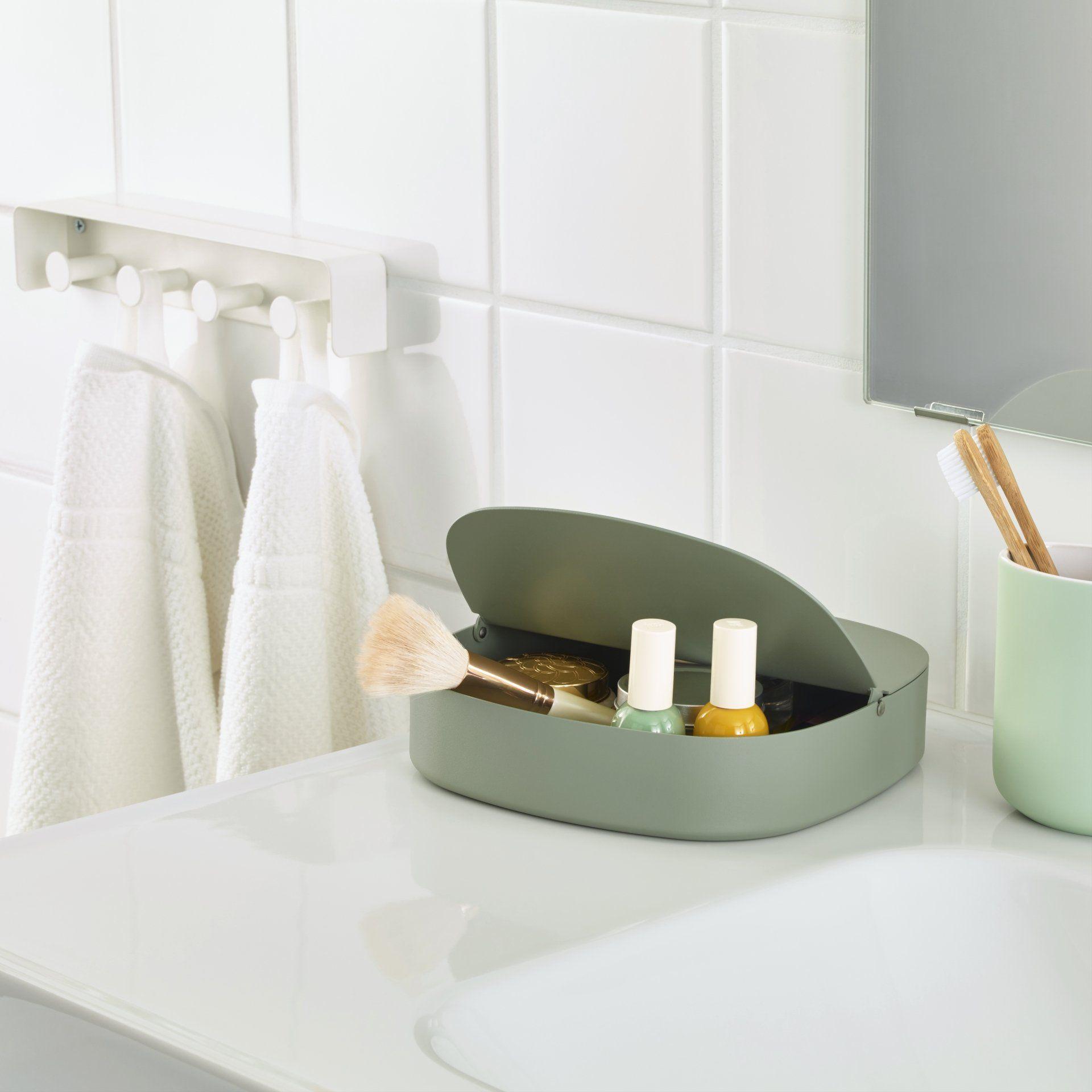 Accessoires Pour Salle De Bain Design ~ une joie bo te de rangement moderne et design vert d eau pour la