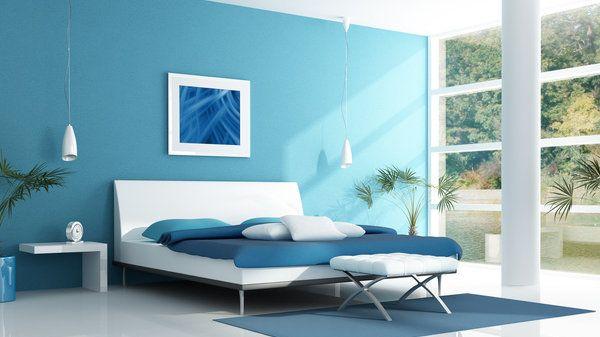En Los Dormitorios Es Necesario Lograr Un Ambiente De Pasividad Descanso Y Relajacion U Pintar Un Dormitorio Decoracion De Interiores Colores Para Dormitorio