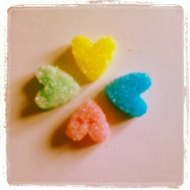 Home made sugar cubes
