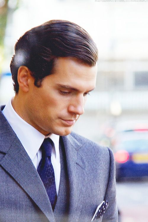 Henry Cavill at the South London set of Guy Ritchie's The Man From U.N.C.L.E., November 2013. Photography by Marlii.